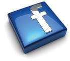 facebook flat beveled